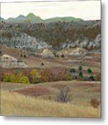 Western Edge Grasslands Grandeur Metal Print