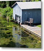 Westport Harbour In Southern Ontario Metal Print