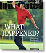 What Happened It Remains The Most Vexing Question In Sports Sports Illustrated Cover Metal Print