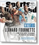 What If Leonard Fournette Went To The Saints The Browns The Sports Illustrated Cover Metal Print