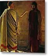 What Is Truth Christ And Pilate Metal Print