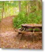 When Every Leaf Is A Flower Metal Print