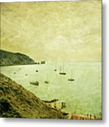 When Turner Came To Alum Bay Metal Print