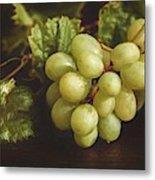 White Grapes Metal Print