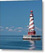 White Shoal Lighthouse 20 Metal Print