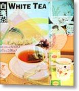 White Tea Blend  Metal Print