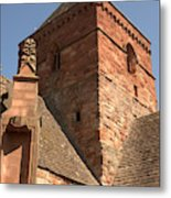 Whitekirk 12th Century Church Tower In East Lothian Metal Print