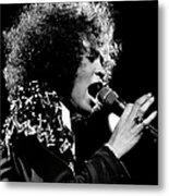 Whitney Houston Live In Concert Metal Print