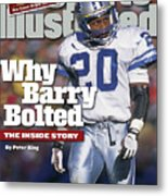 Why Barry Bolted The Inside Story Sports Illustrated Cover Metal Print