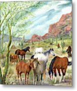 Wild And Free Forever Metal Print
