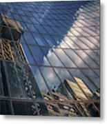 Willis Building Reflections No 3 Metal Print