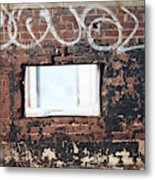 Window Into The Soul Metal Print