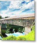 Windsor Cornish Bridge Metal Print