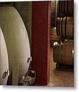Wine Cellar Metal Print