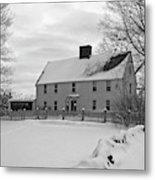 Winter At Noyes House Metal Print