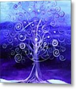 Winter Tree One Metal Print