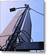 Wired Wilshire Downtown Metal Print