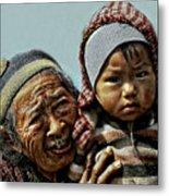 Women Of Nepal - Series Metal Print