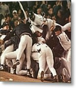 World Series 6 Yankees Metal Print
