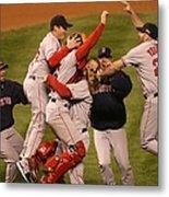 World Series Boston Red Sox V Colorado Metal Print