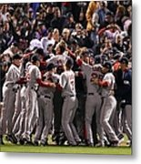 World Series Boston Red Sox V Colorado Metal Print