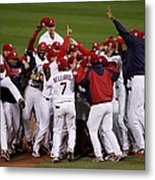 World Series Game 5 Detroit Tigers V Metal Print