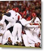 World Series Game 5 St. Louis Cardinals Metal Print