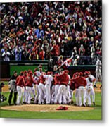 World Series Tampa Bay Rays V Metal Print