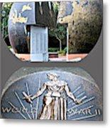 World War 2 Memorial Savannah Metal Print