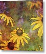 Yellow Among Purple 4234 Idp_2 Metal Print
