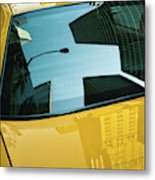 Yellow Cab, Big Apple Metal Print