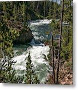 Yellowstone Rapids Metal Print