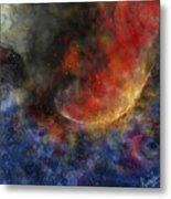 Ying Yang Fire And Water Metal Print