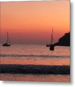 Z For Zihuatanejo Metal Print