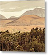 Zeehan And Beyond Metal Print