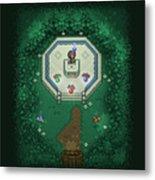 Zelda Mastersword Metal Print