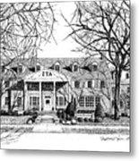 Zeta Tau Alpha Sorority House, Purdue University, West Lafayette, Indiana, Fine Art Print Metal Print