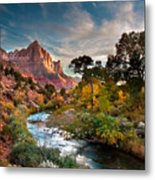 Zion And The Metal Print
