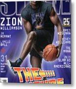 Zion Williamson: The Future Issue SLAM Cover Metal Print