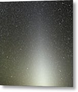 Zodiacal Light Seen From Paranal Metal Print
