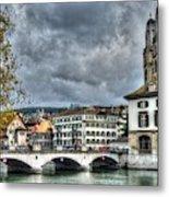 Zurich Switzerland Metal Print