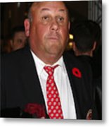 2012 Hockey Hall Of Fame Induction - Red Carpet Metal Print
