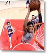 2021 NBA Playoffs - Philadelphia 76ers v Washington Wizards Metal Print