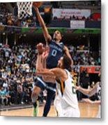 2021 NBA Playoffs - Utah Jazz v Memphis Grizzlies Metal Print