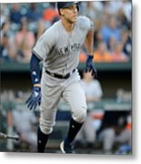 Aaron Judge Metal Print