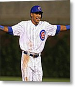 Addison Russell Metal Print