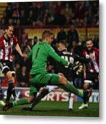 Brentford v Bolton Wanderers - Sky Bet Championship Metal Print