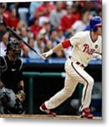 Chase Utley Metal Print