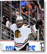 Chicago Blackhawks v Anaheim Ducks - Game Seven Metal Print