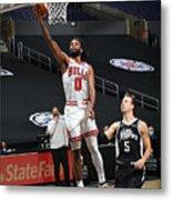 Chicago Bulls v LA Clippers Metal Print